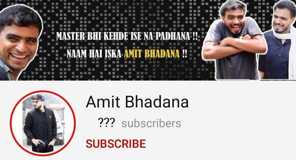 Amit-bhadana-YouTube-channel