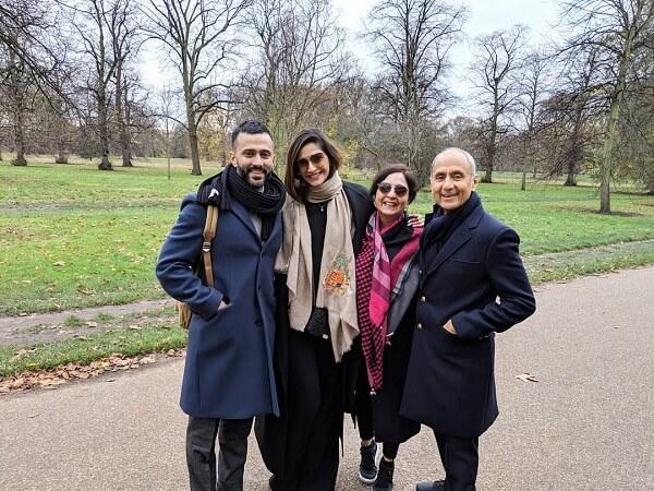 Anand-Ahuja-Family