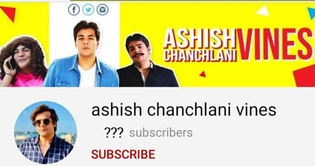 Ashish-Chanchlani-vines