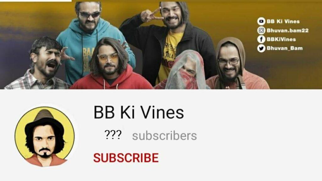 Bhuvan-Bams-Youtube-channel