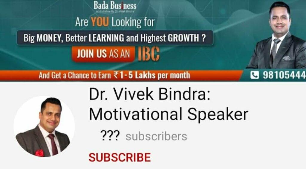 Dr-vivek-bindra-Top-10-Indian-YouTuber