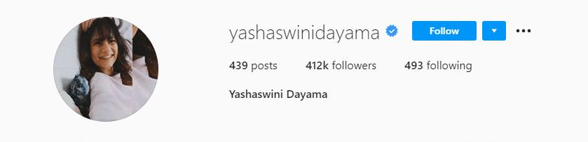 Yashasvini_Dayama_Instagram