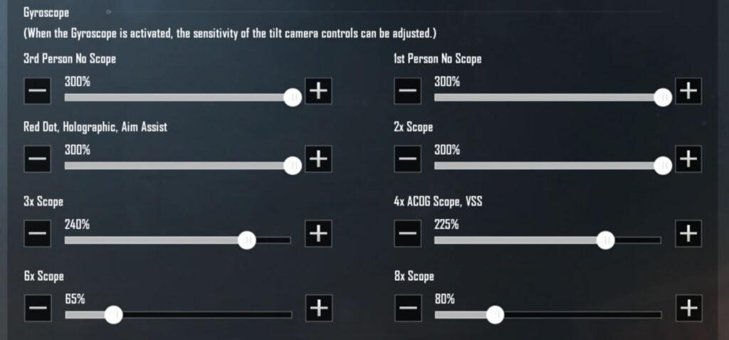 PUBG-pro-Player-Sensitivity