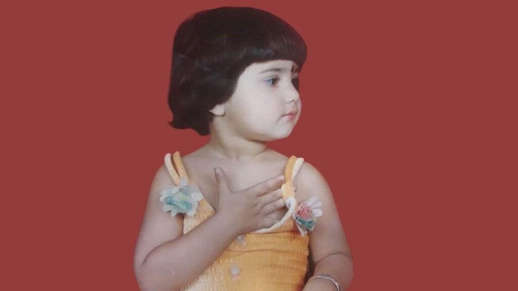 Ashima-Chaudhary-Childhood-Pic