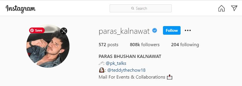 Paras-Kalnawat-Instagram