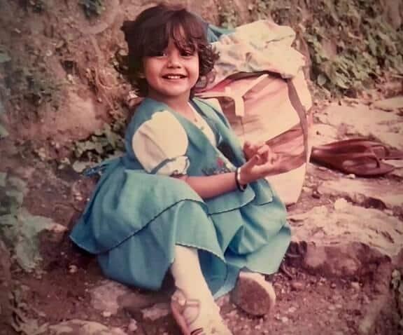 Surbhi-Chandna-Childhood-photo