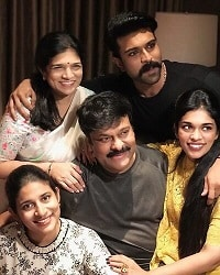 Chiranjeevi-Sreeja-family