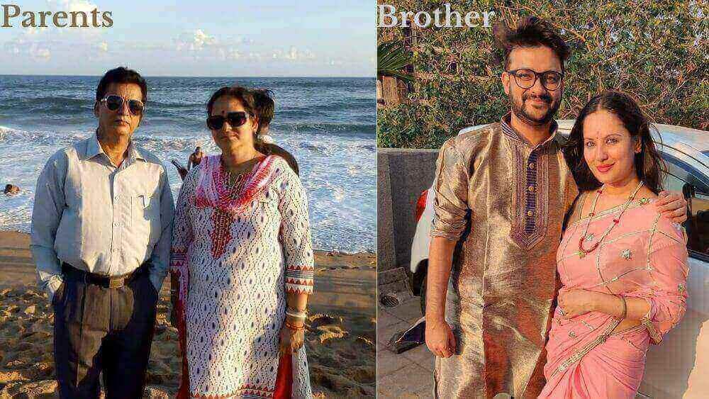 Puja-Banerjee-Family