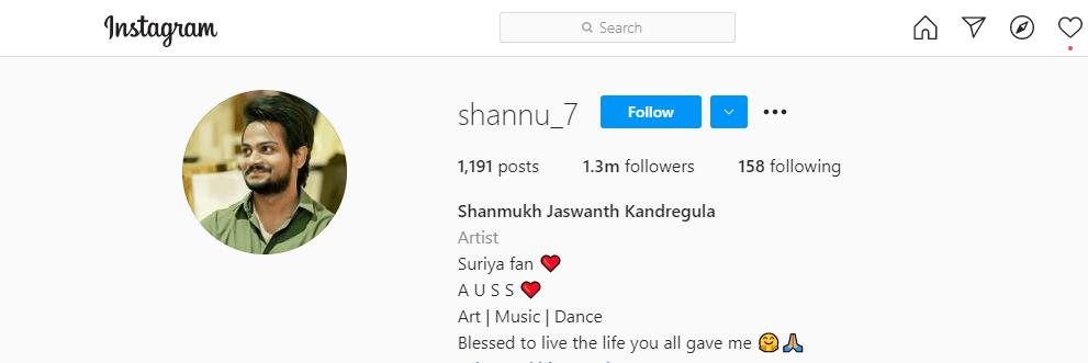 Shanmukh-Jaswanth-Instagram